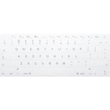 N18 Nyckelklistermärken Apple - big kit - vit bakgrund - 14:14mm